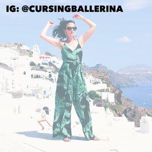 Cursing Ballerina on Instagram!